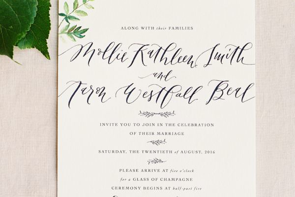 valley & company advice :: wedding day paper goods