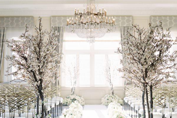 valley & co. wedding :: winter chic