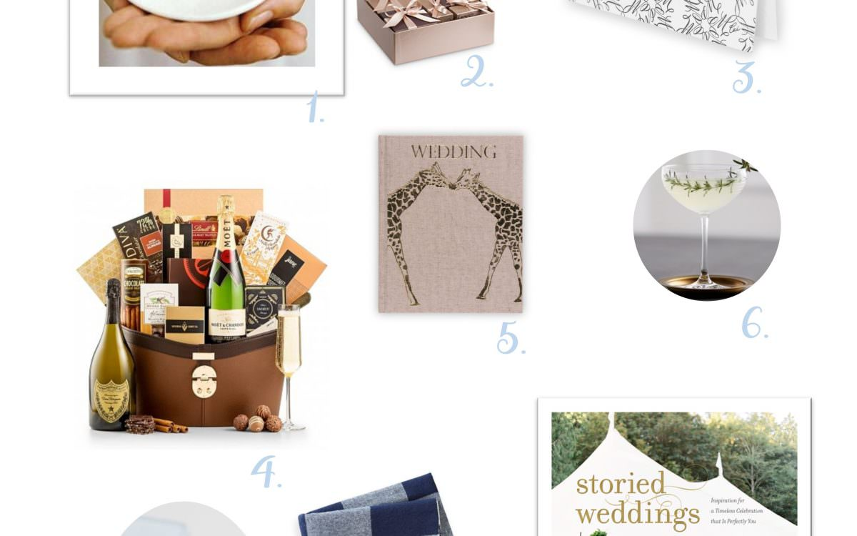 valley & co.'s gift picks for the newly engaged