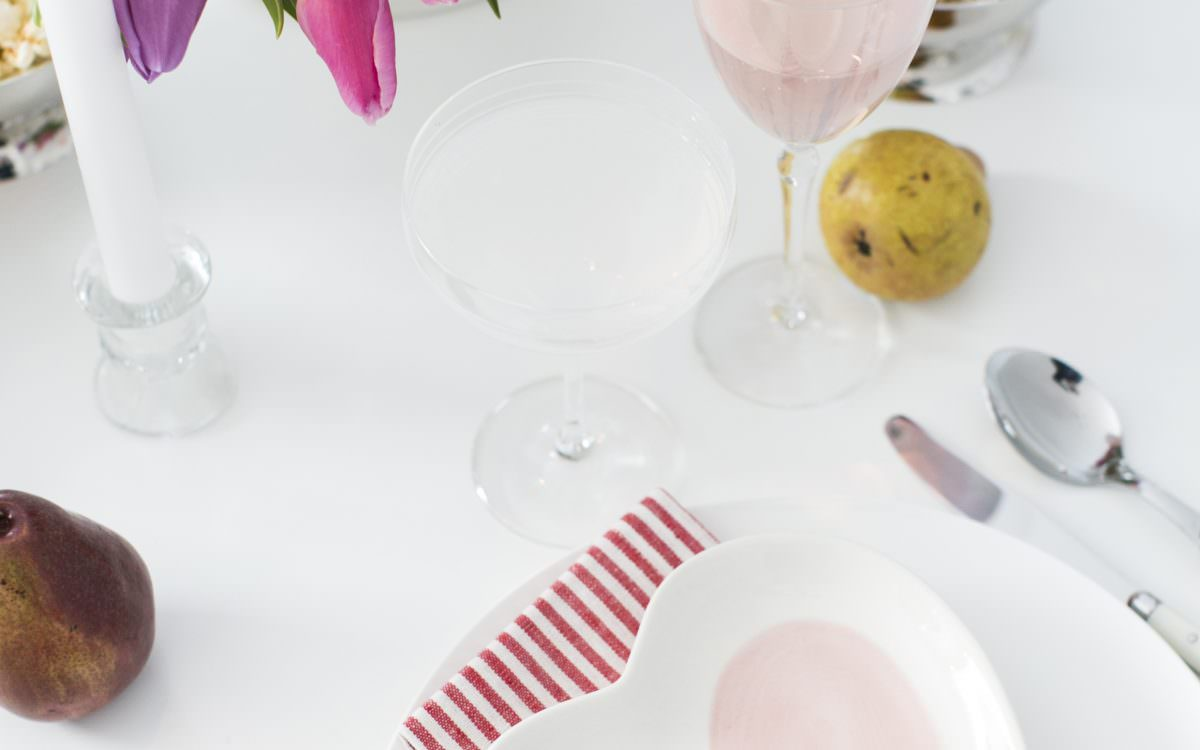 entertaining :: valentine's day party with pottery barn