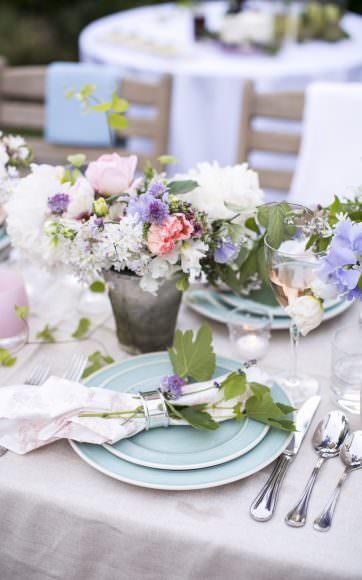valley & co. designs :: pastel floral-filled wedding shower