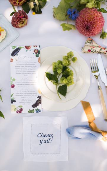 valley & co. event :: lawn luncheon