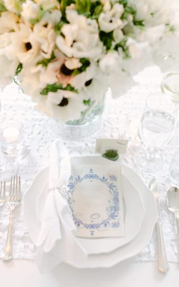 valley & co. designs :: chic white dinner party