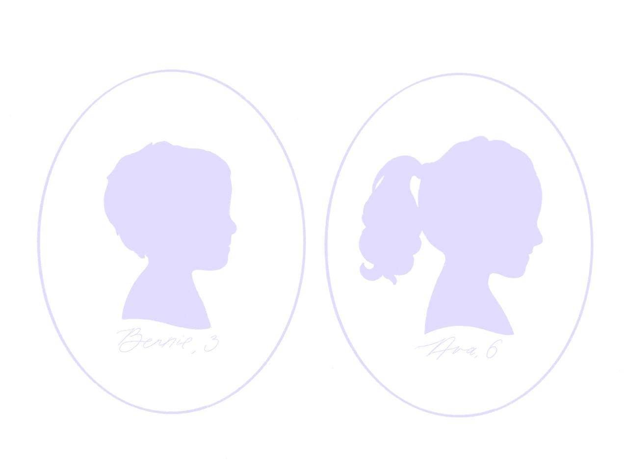 Custom Digital Silhouette