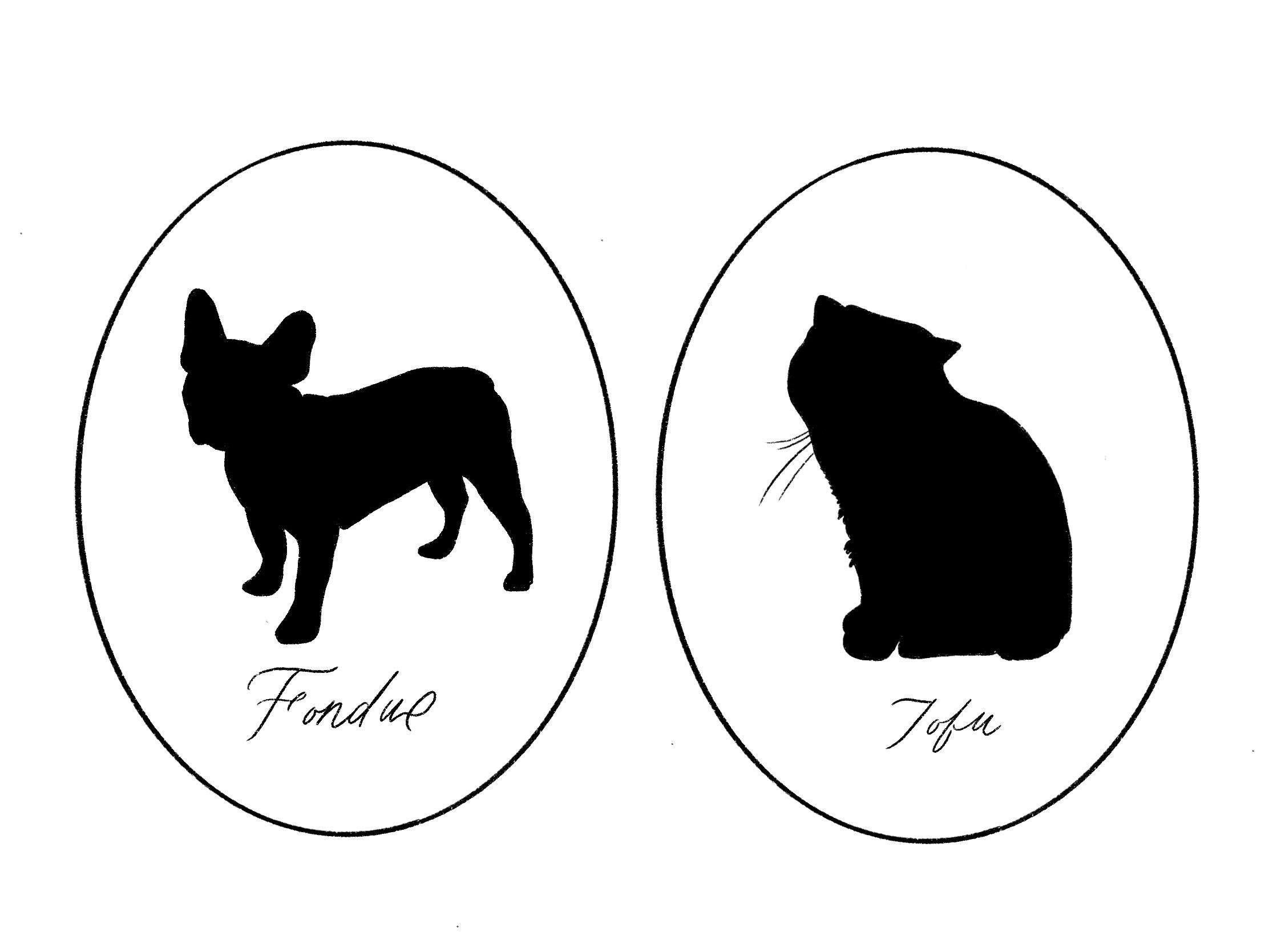 Digital Pet Silhouette