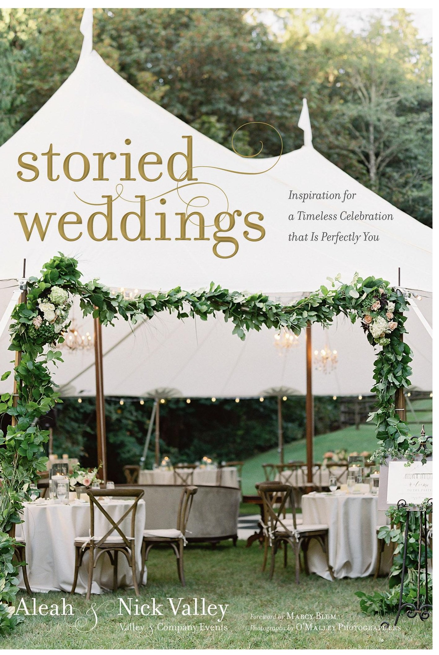 Signed Copy of Storied Weddings