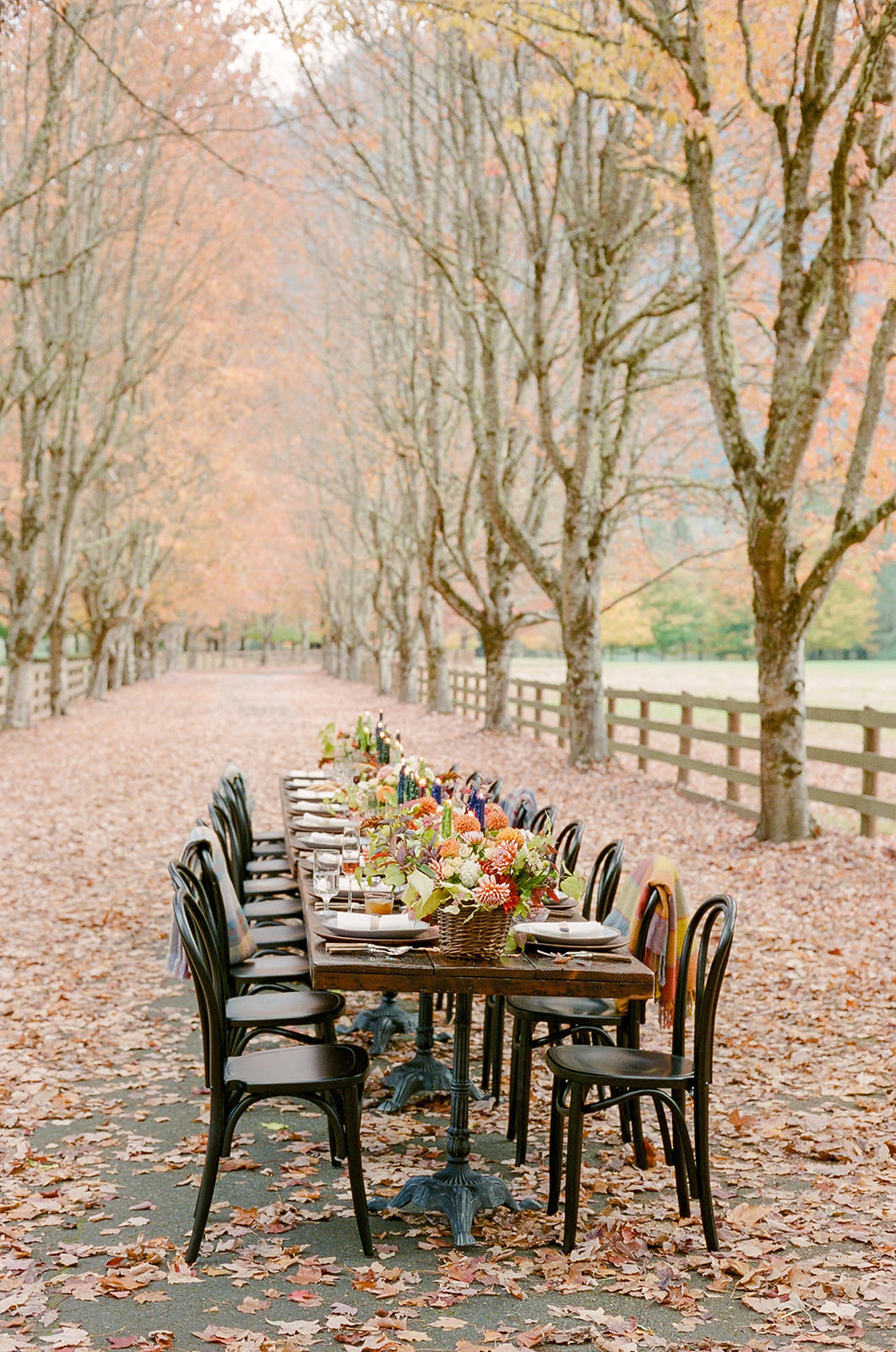 entertaining at home :: cozy fall tabletop