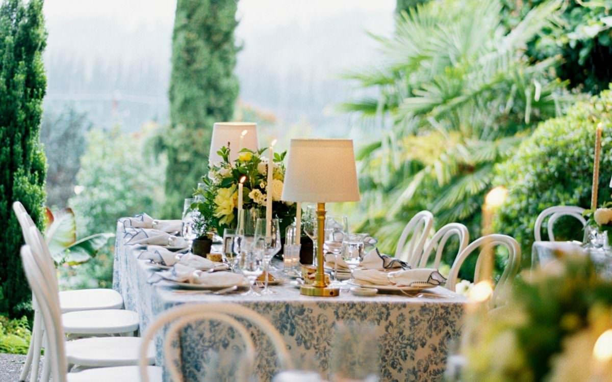Capri-Inspired Winery Wedding
