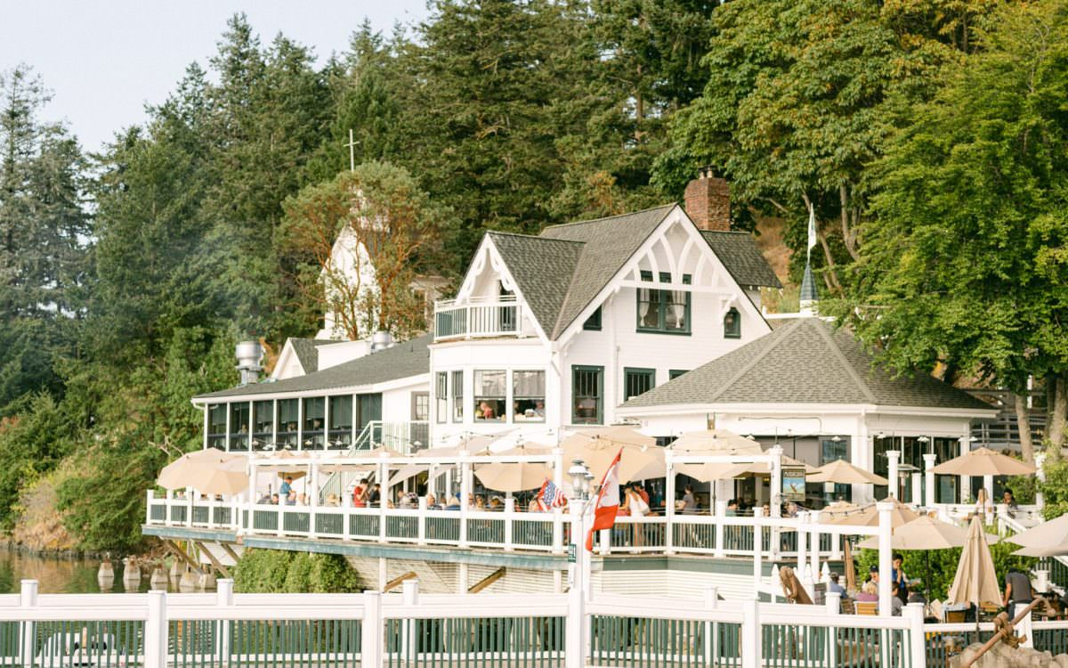 Cool Blue Wedding at Roche Harbor